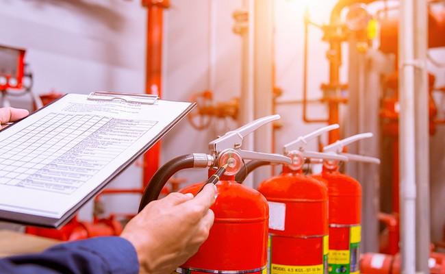 Kontrola hasiacich prístrojov