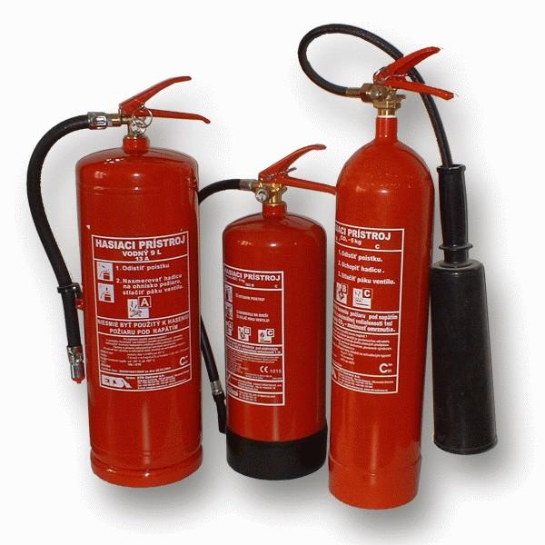 Prenosné hasiace prístroje