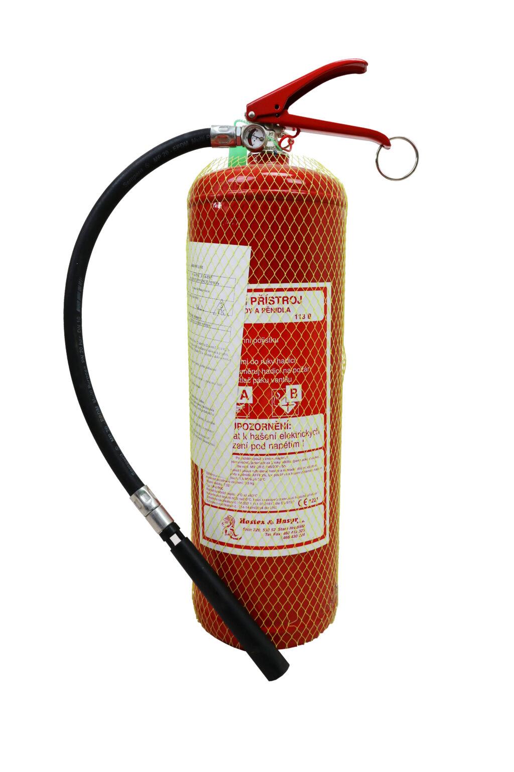 Prenosný hasiaci prístroj penový 6l